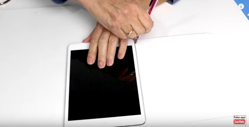 Funda de goma eva para Tablet o iPad 1