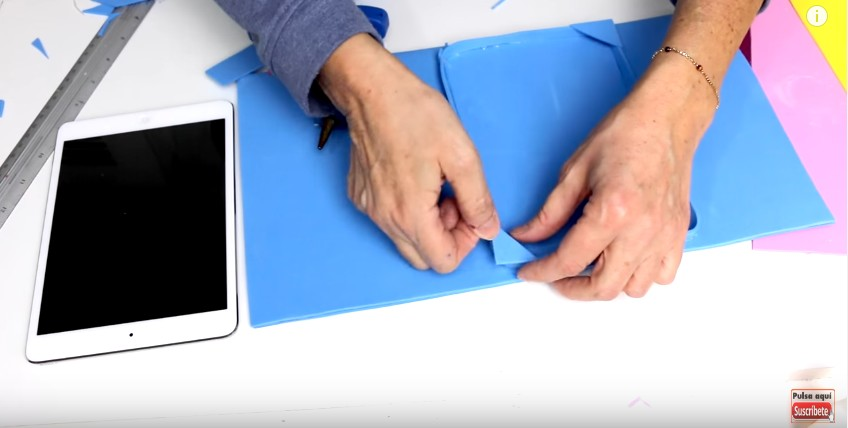 Funda de goma eva para Tablet o iPad 14