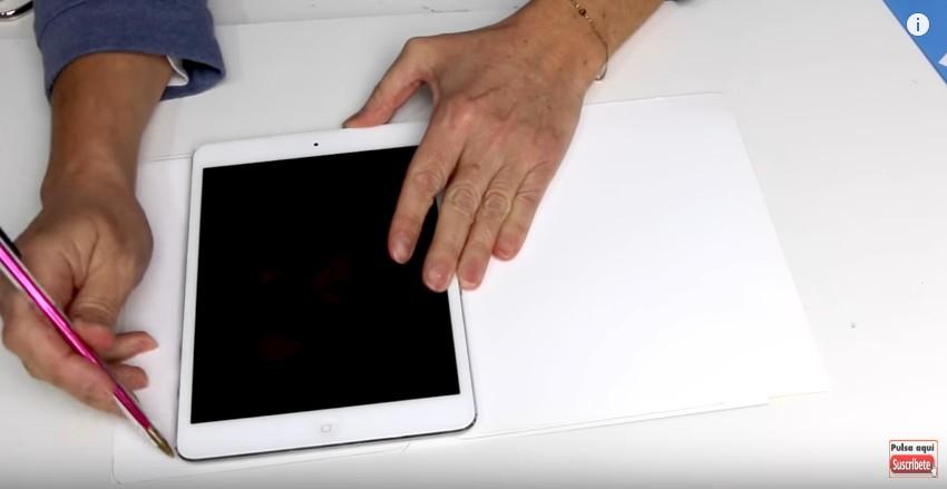 Funda de goma eva para Tablet o iPad 3