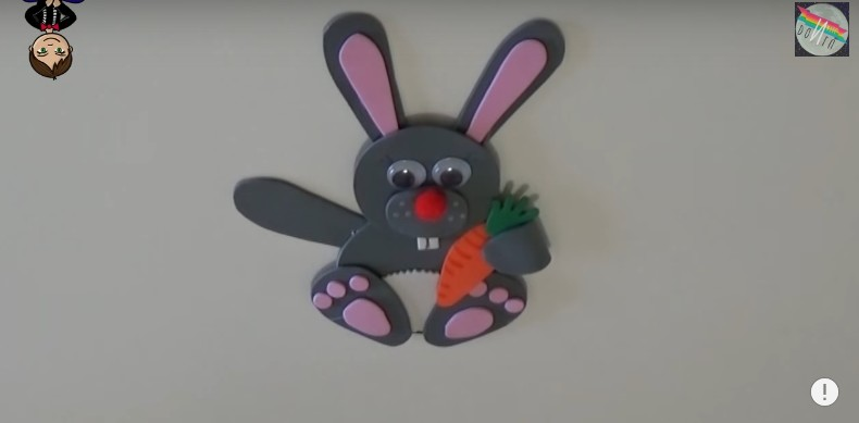 DIY Conejito dulcero de Pascua 5