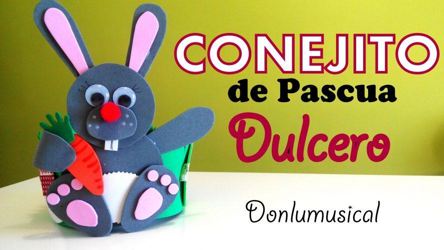 DIY Conejito dulcero de Pascua
