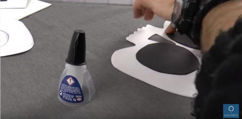 Mascara de calavera en goma eva 10