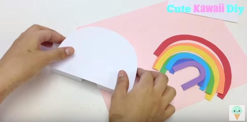 Soporte para movil con forma de arco iris 11
