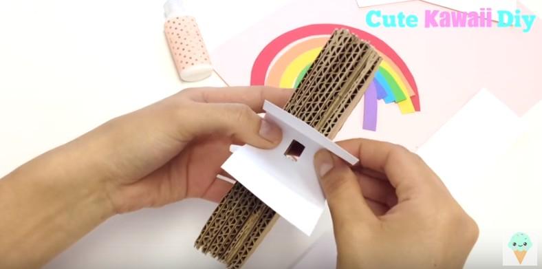 Soporte para movil con forma de arco iris 9